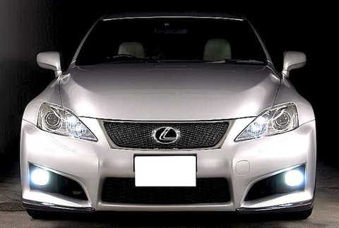 LEXUS IS(GSE2#)LEDフォグランプ/PHILIPS CHIP/4000lm(6500K)