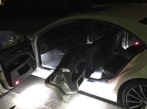 メルセデスベンツCLSクラス C218・X218/Epistar 3030 monster LEDドアアンダーランプ/MercedesBenz-CLS(C218・X218)