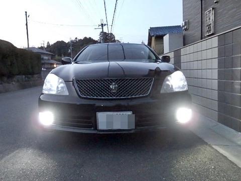 ゼロクラウン [強烈な輝度 2500ルーメン] LEDフォグランプ/Epistar 3030 LED(ホワイト・レモンイエロー)GRS18#