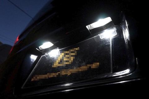 三菱デリカD:5 /Epistar 3030 Power LED ナンバー灯/DELICA D:5