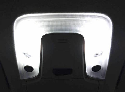 50プリウス/プラズマクラスター装備車用ルームランプ POWER COB LED/PRIUS/ZVW5#