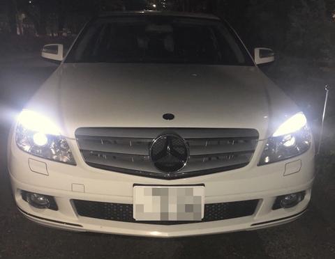 メルセデスベンツ Cクラス W204(前期)Epistar 3030 monster LED(300LM x 4)/ポジションランプ(スモール/パーキング)Benz-C/W204 前期
