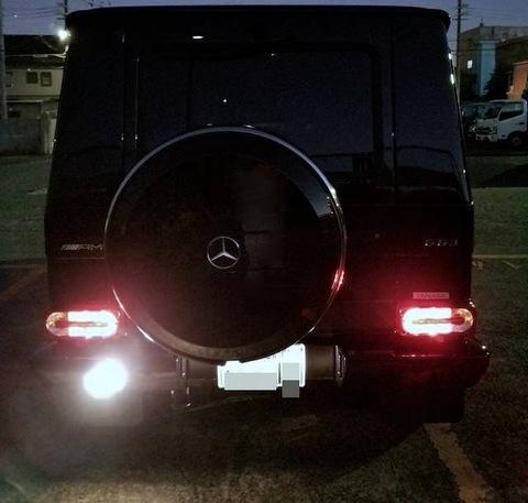 メルセデスベンツ Gクラス W463 ゲレンデ/LEDバック(リバース)ランプ/MercedesBenz-G/W463