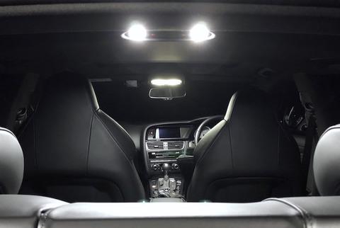 アウディ A5・S5 スポーツバック 8T (B8)/LEDルームランプセット/AUDI  A5・S5 Sportback 8T (B8)