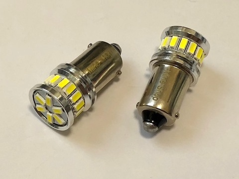 BA9S (G14)180°ピン/L.M monster SMD3014(20pcs) 300LM・6000K/単品1個