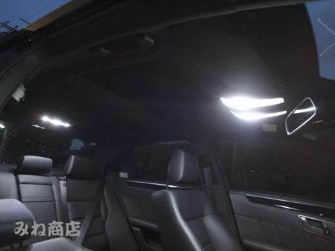 メルセデスベンツ Cクラス W204/LEDフロント&リアルームランプ(Type1)Benz-C/W204