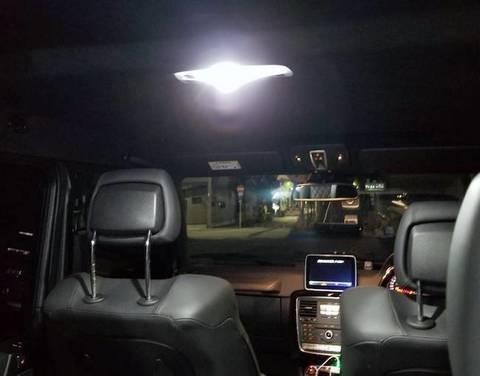メルセデスベンツ Gクラス W463 ゲレンデ/Epistar 3030 monster LEDルームランプセット/MercedesBenz-G/W463