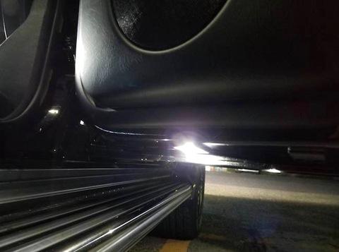 メルセデスベンツ Gクラス W463 ゲレンデ/Epistar 3030 monster LEDドアアンダーランプ/MercedesBenz-G/W463