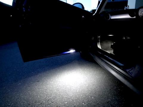 BMW MINI/LEDカーテシ,フット,グローブボックスランプセット/R56 ONE/Cooper/Cooper S/前期・後期