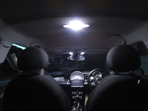 BMW MINI/LEDルームランプセット/R56 ONE/Cooper/Cooper S/前期・後期