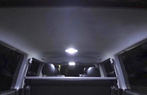 200系ハイエースGL/1型/2型/3型/4型 CHIP ON BOARD(LED)ルームランプ/レジアスエース KDH/TRH2##
