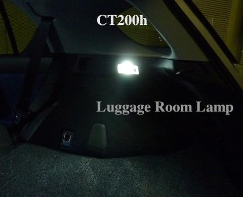 レクサスCT(中期・後期)LED(3030 monster SMD 340LM) ラゲージルームランプ「タイプ2」LEXUS CT200h/ZWA10