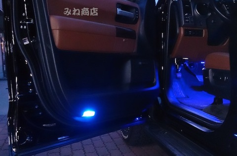 USトヨタ セコイア 超最新LED(SMD)ドアカーテシランプ!! SEQUOIA(2008年~)