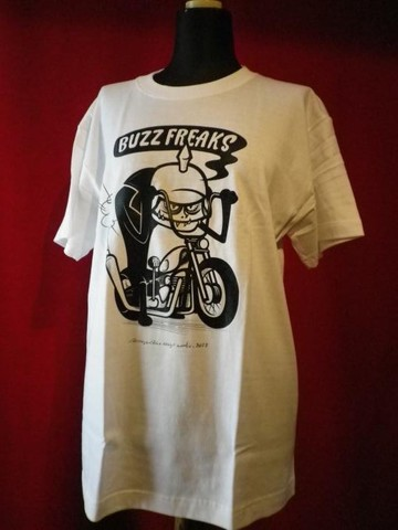 "BUZZ FREAKS T-shirt ""WHITE"""