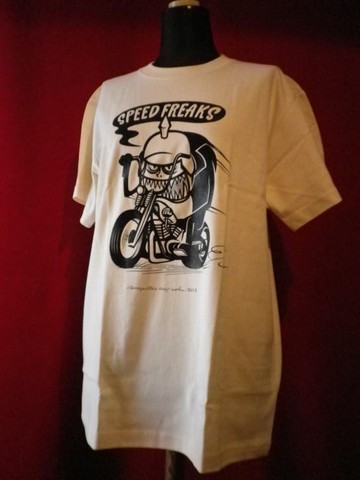"SPEED FREAKS T-shirt ""CREAM"""