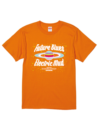Future BluesTシャツ(オレンジ)