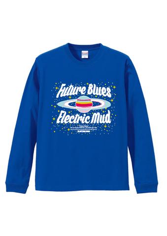 Future Blues ロングTシャツ(青)
