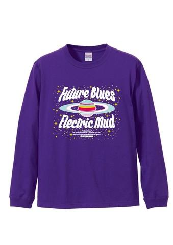Future Blues ロングTシャツ(紫)