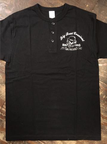 BIG BEAT CARNIVAL ヘンリーネックT-shirt