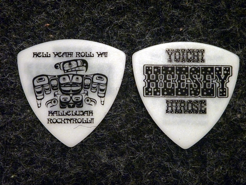"""HEESEY PICK """"THE BASS MAN"""" WH 【全国送料一律¥500-】※沖縄・離島を除く"""