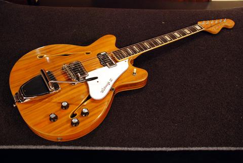 【Vintage】 Fender Coronado II Wildwood 1967