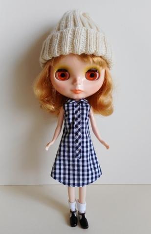 ギンガムシャツドレス