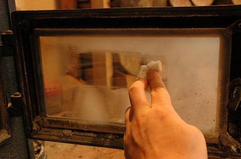 煙突掃除+薪ストーブ本体の点検