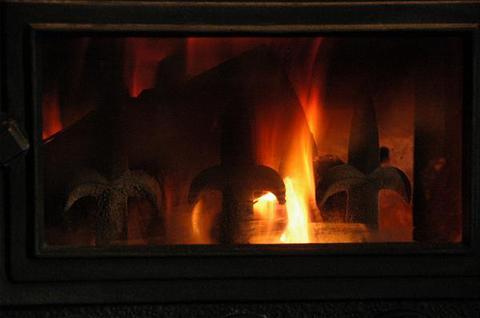薪ストーブの焚き方の講習