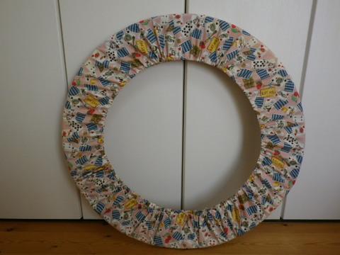 フープカバー(径85cm)   マジカルパーティー・ピンク