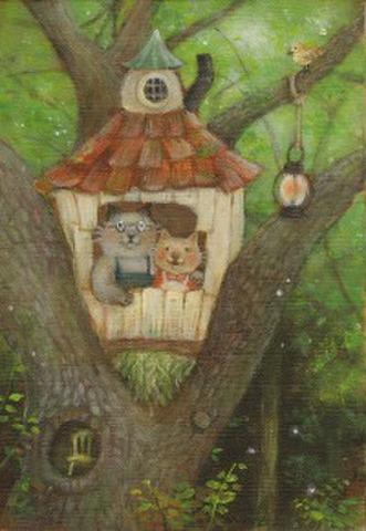 木の上の小さな家