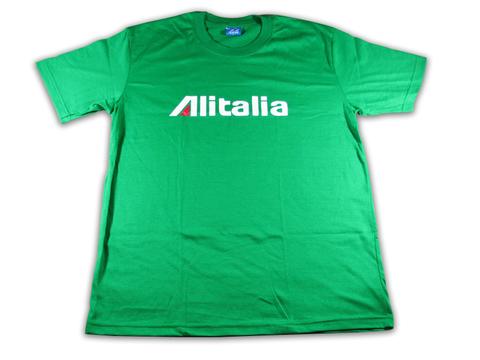 アリタリア・イタリア航空 Alitalia エアラインTシャツ