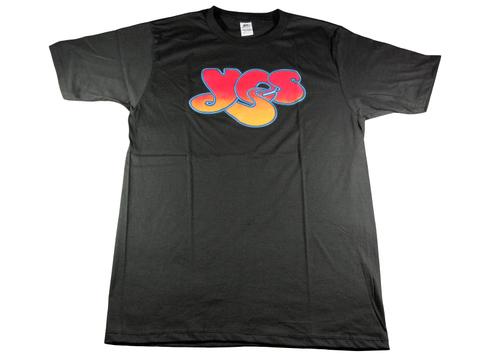 イエス YES レトロでサイケなプログレッシブロックTシャツ