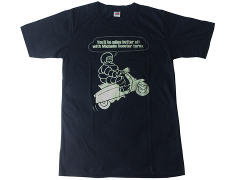 オールドスタイル・モーターサイクルTシャツ・ビバンダム