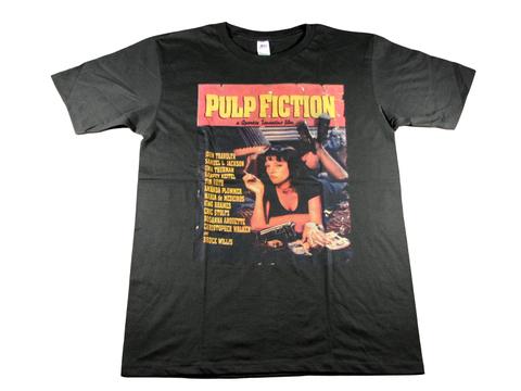 パルプフィクションTシャツ・タランティーノ映画Tシャツ