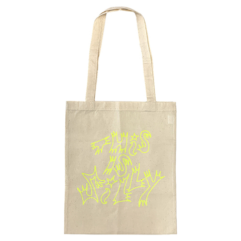 Tote bag『This Is Silly』[Natural] by Chaz Bear (Toro y Moi)