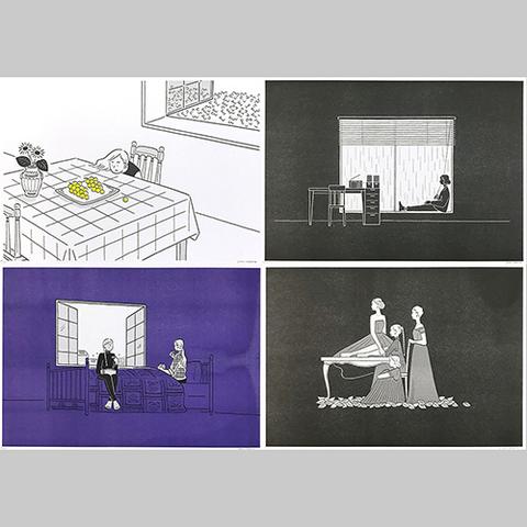 小幡彩貴「季節の記録」Riso Print Group C