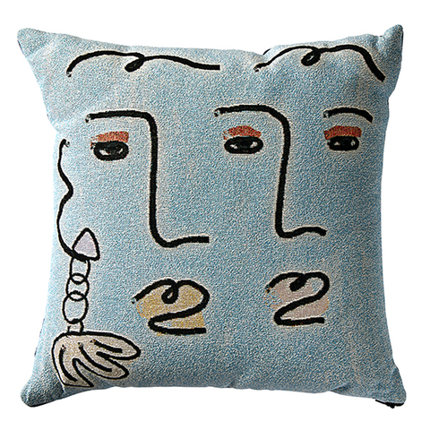 "bfgf - ""Double Face"" Pillow"