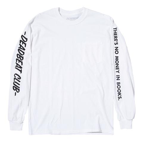 DEADBEAT CLUB L/S POCKET Tshirt