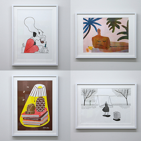 RISO print series「Lennard Kok/Lilian Martinez/オカタオカ/小幡彩貴」