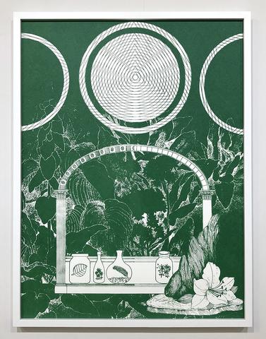 """Seed Vault"" Screen Print by Alicia Nauta"