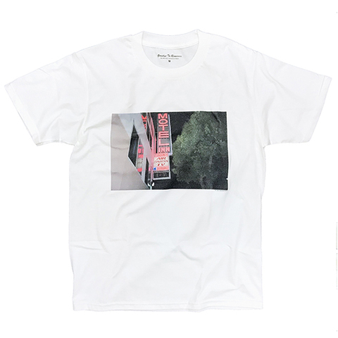 """Dan Monick × commune,Tokyo """"Goodby to Romance"""" Tshirt [WHITE]"""