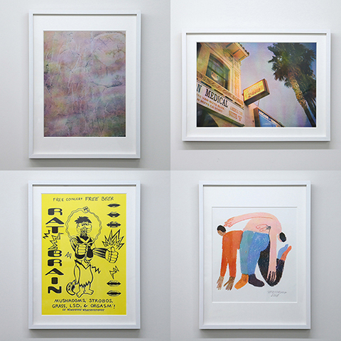 RISO print series「Coley Brown/Dan Monick/Ed Davis/Jeffrey Cheung」