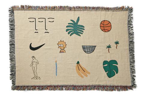 """bfgf - """"WWA Horizontal"""" mini blanket"""