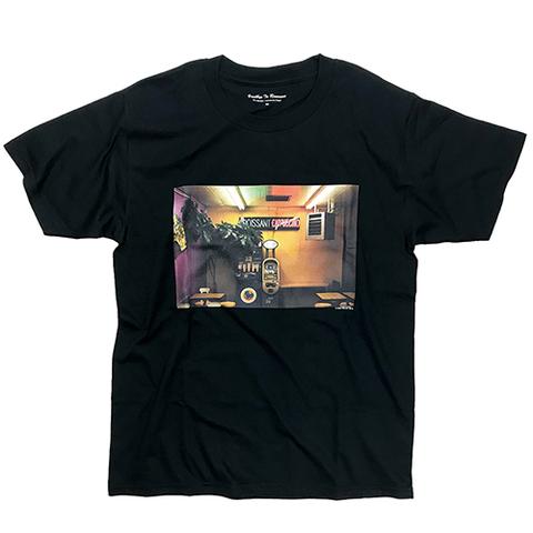 "Dan Monick × commune,Tokyo ""Goodbye to Romance"" Tshirt [BLACK]"