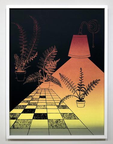 """Soft Dark"" Screen Print by Alicia Nauta"