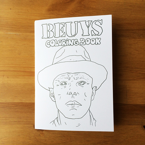 BEUYS COLORING BOOK - Christian Gfeller & you