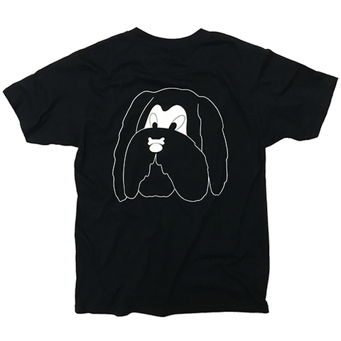 "Andy Busc × commune,Tokyo ""THE LOOKS"" Tshirt [BLACK]"