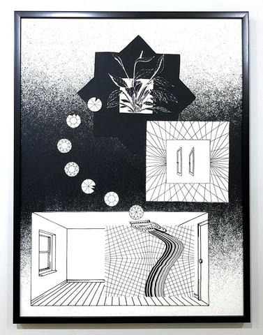"""Fever Dream"" Screen Print by Alicia Nauta"
