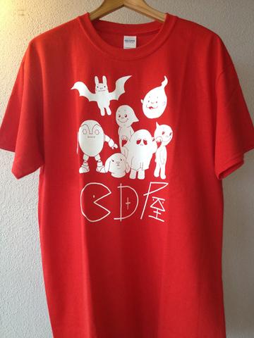 『ニューロゴ集合Tシャツ』(赤)