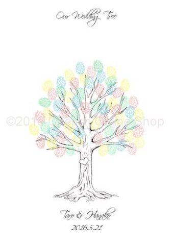 ウェディングツリー Wedding Tree Happily Everafter(A4サイズ)